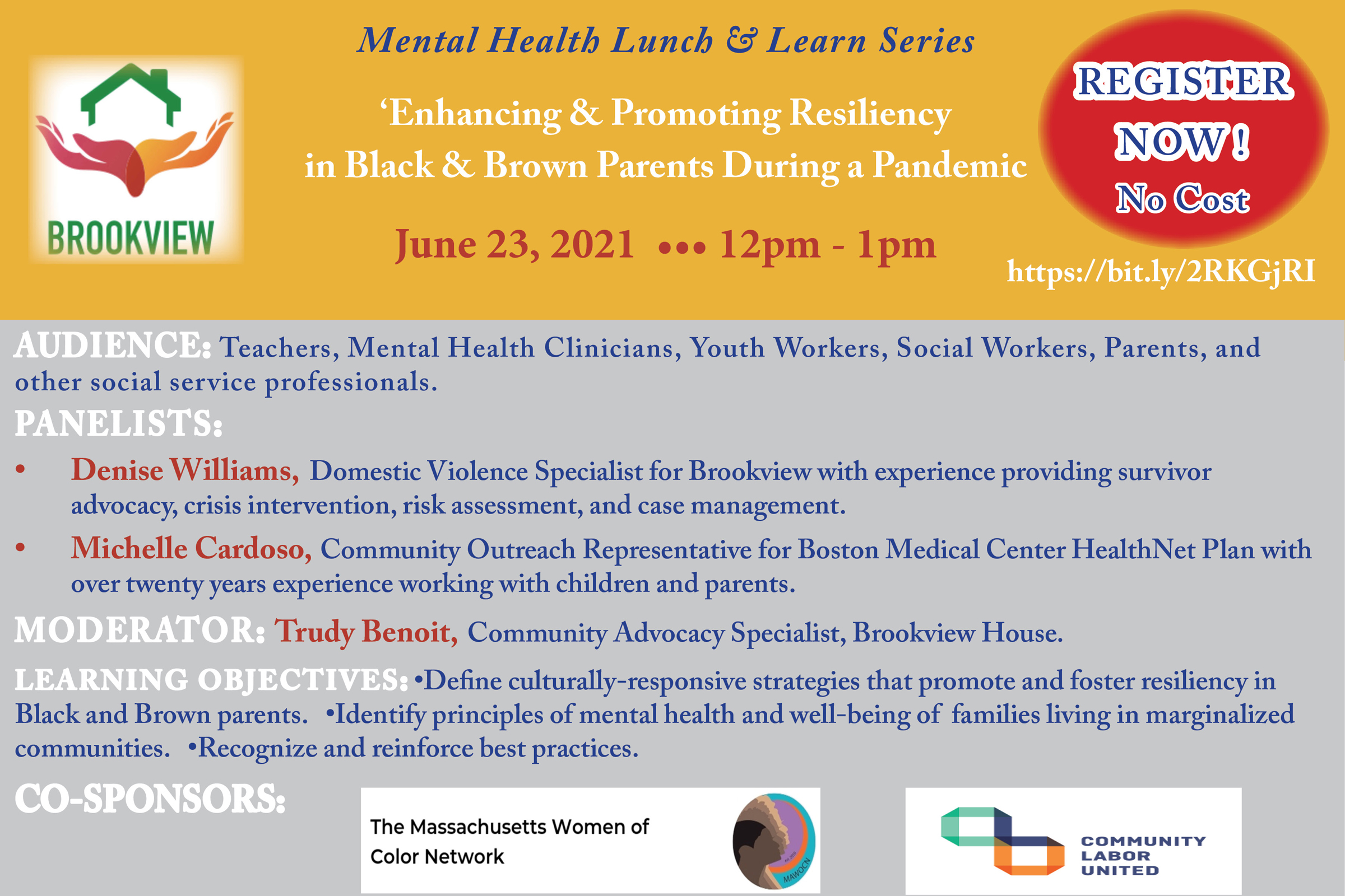 Lunch and Learn Registration